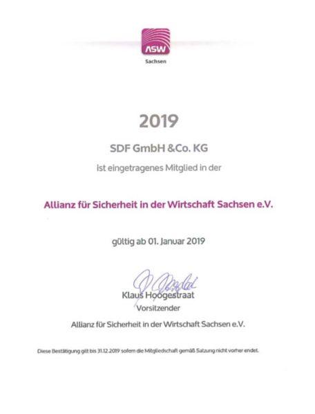 Allianz für Sicherheit in der Wirtschaft Sachsen