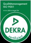 Logo Zertifikat ISO 9001